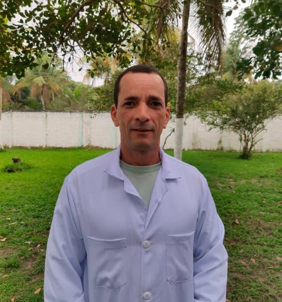 Cristiano Jorge Gouveia da Silva / Gerente de tratamento