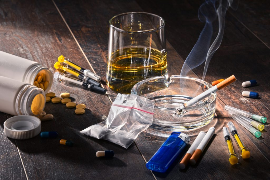 drogas e seus efeitos no corpo humano