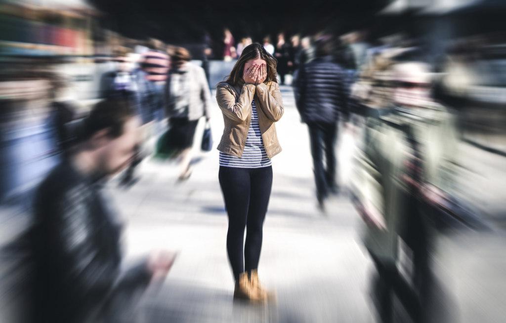 comportamento de um esquizofrenico